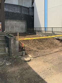 港北区で解体工事