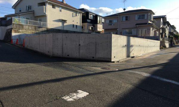 旭区解体工事及びコンクリート擁壁築造替え工事